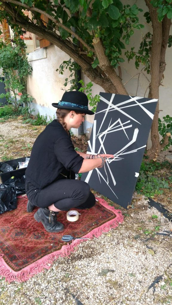 Action Painting Festival Suzanne Dirne