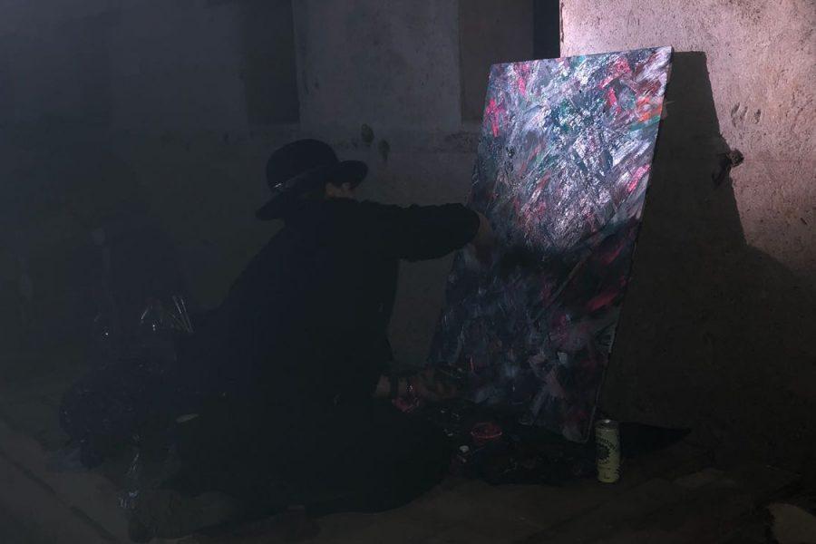 Action Painting // De Bruiloft 2018