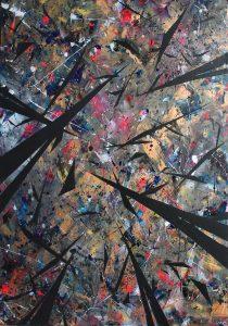 Blijburg Nightwatch stage studio allegonda Amsterdam action painting suzanne dirne