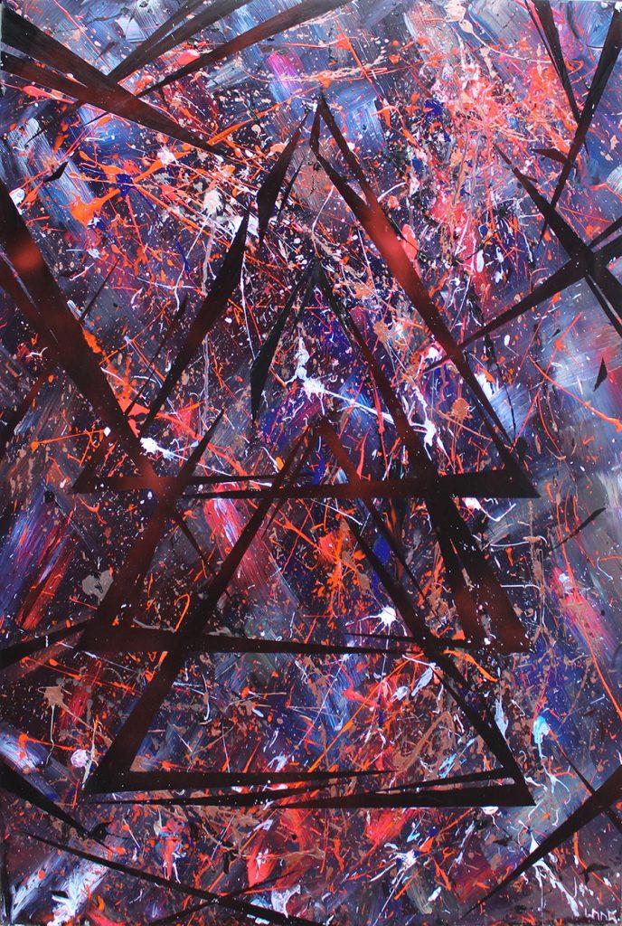 ADE capsule rave studio allegonda Amsterdam action painting suzanne dirne