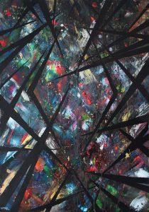 studio allegonda Amsterdam action painting suzanne dirne