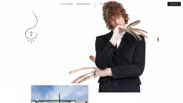 nadia innocentia portfolio website amsterdam